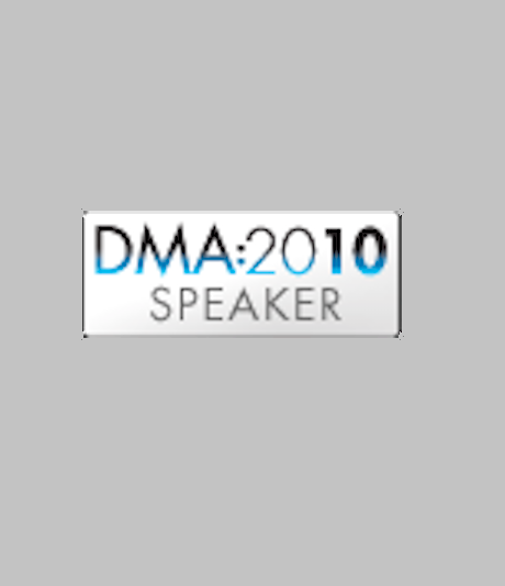 Speaker at 2010 DMA Conference